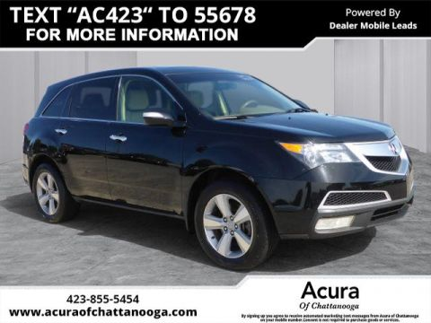 Pre-Owned 2010 Acura MDX SH-AWD w/Tech w/RES