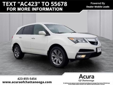 Pre-Owned 2012 Acura MDX SH-AWD w/Advance w/RES