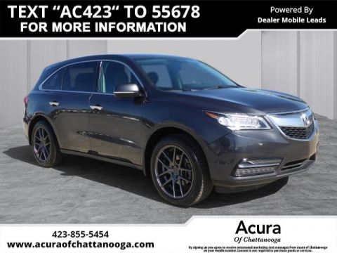 Pre-Owned 2015 Acura MDX w/Tech