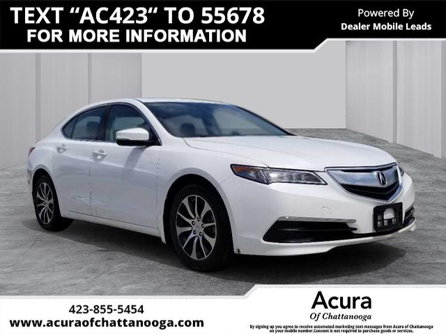 Certified Pre Owned 2016 Acura Tlx 2 4 8 Dct P Aws 4dr Sedan In