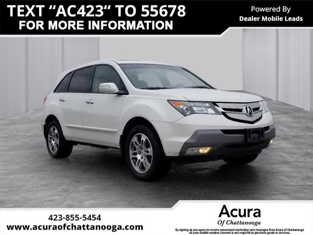 Pre Owned 2008 Acura Mdx Sh Awd W Tech