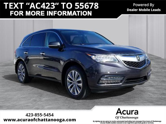 Pre-Owned 2014 Acura MDX w/Tech
