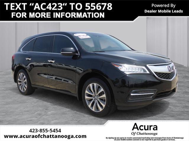 PreOwned Acura MDX WTech Dr SUV WTechnology Package In - Acura mdx pre owned