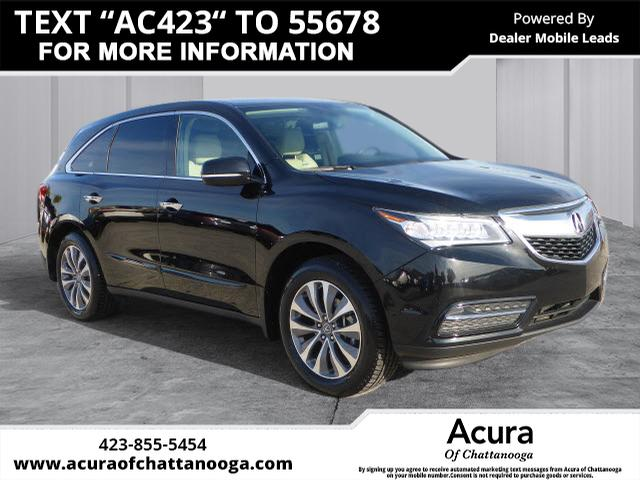 Certified Pre-Owned 2014 Acura MDX with Technology Package