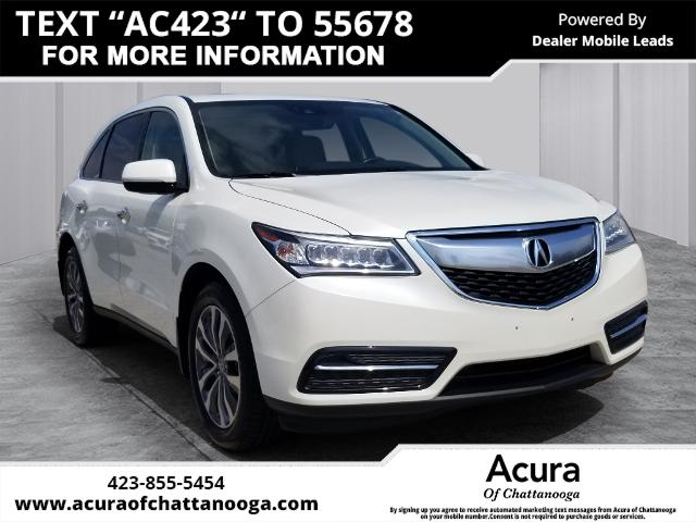 Pre-Owned 2016 Acura MDX 3.5L SH-AWD w/Technology Pkg
