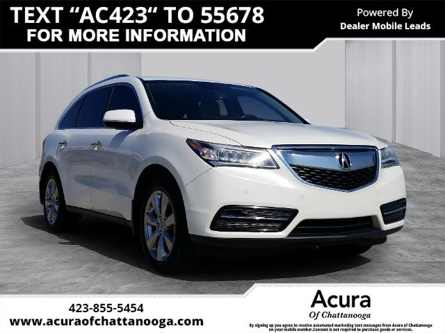 Pre-Owned 2014 Acura MDX 3.5L Advance Pkg w/Entertainment Pk