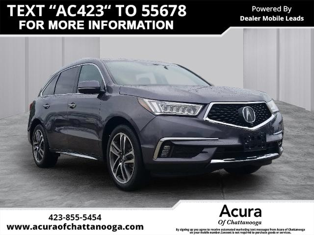 Pre-Owned 2017 Acura MDX 3.5L SH-AWD w/Advance & Entertainme