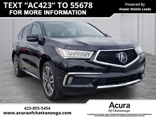 Certified Pre-Owned 2017 Acura MDX Sport Hybrid SH-AWD with Advance Package