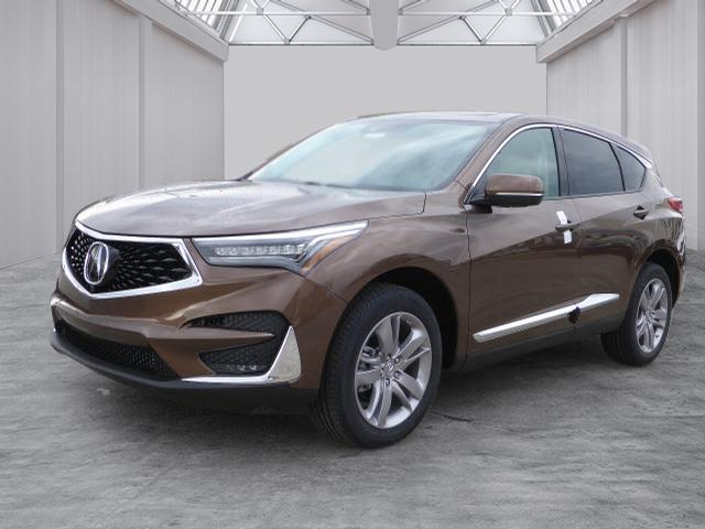 New 2019 Acura Rdx Sh Awd With Advance Package Sh Awd 4dr Suv W