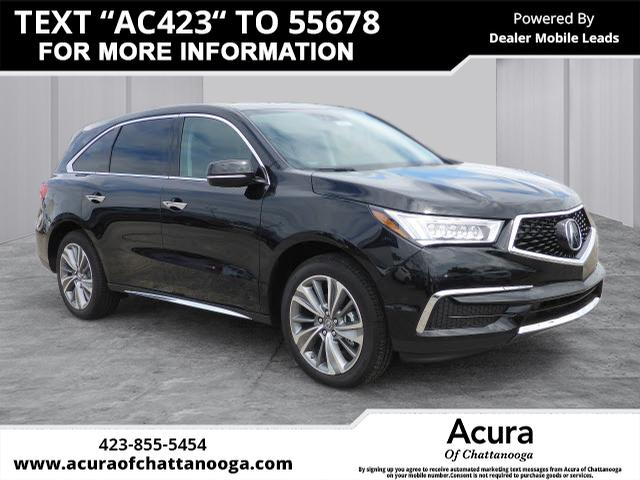 New Acura MDX SHAWD With Technology Package SHAWD Dr SUV W - 2018 acura mdx wheels