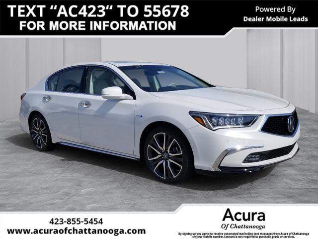 New 2020 Acura Rlx Sport Hybrid Sh Awd With Advance Package