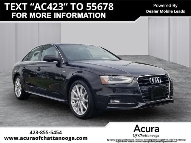 Pre-Owned 2014 Audi A4 2.0T Premium Plus quattro