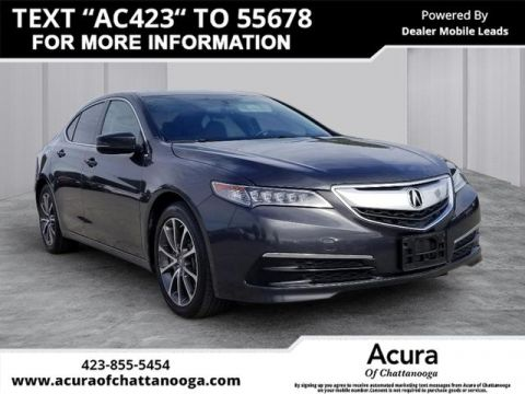 Pre-Owned 2016 Acura TLX 3.5L V6 Base