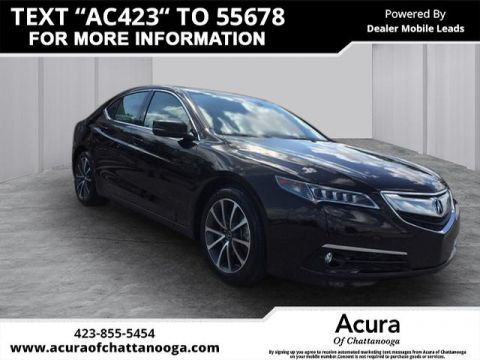 Certified Pre-Owned 2016 Acura TLX 3.5 V-6 9-AT P-AWS with Advance Package