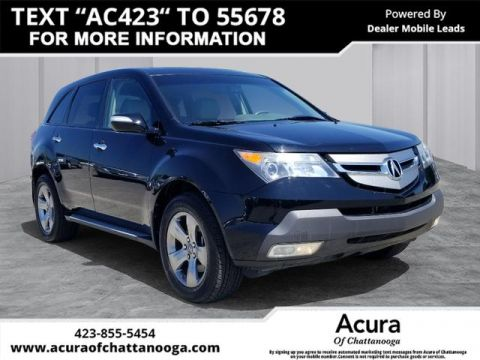 Pre-Owned 2009 Acura MDX SH-AWD w/Sport