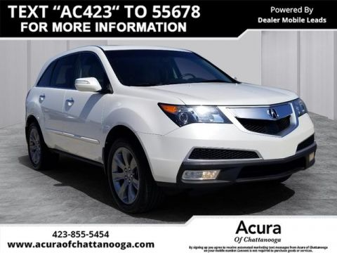Pre-Owned 2010 Acura MDX SH-AWD w/Advance w/RES