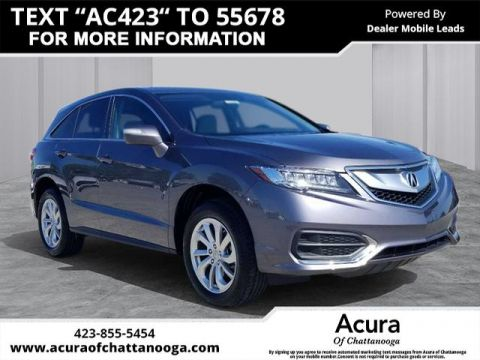 Pre-Owned 2018 Acura RDX w/Tech