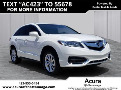 Pre-Owned 2016 Acura RDX Base AWD w/Technology Package